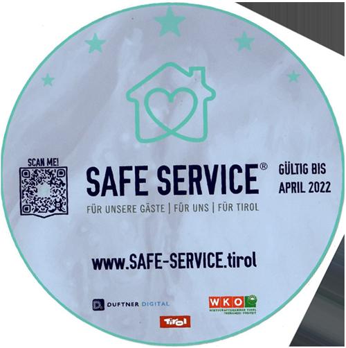 Safe Service Zertifikat